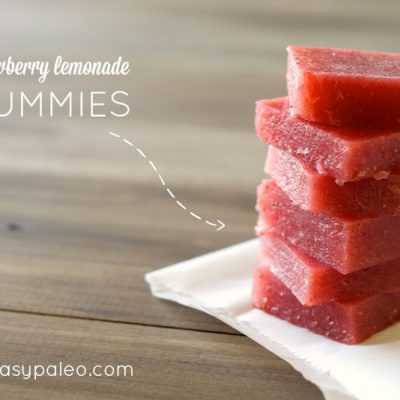 Strawberry Lemonade Gummies | stephgaudreau.com