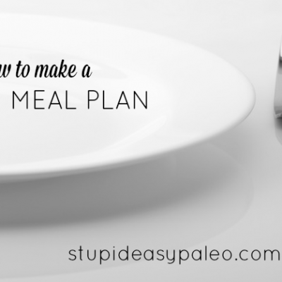 Paleo Meal Planning: A How-To | stephgaudreau.com