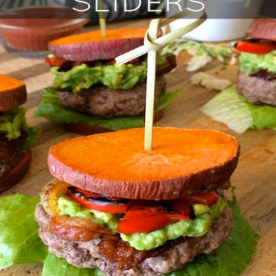 Paleo Avocado Bacon Sliders | stephgaudreau.com