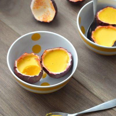 Passion Fruit Panna Cotta (Paleo & Dairy-Free) | stephgaudreau.com