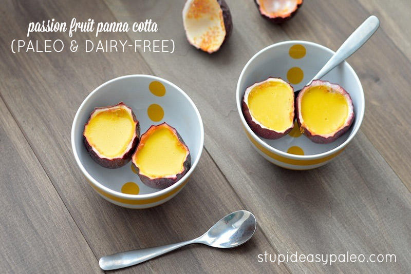 Invariably, my mind jumped to a Paleo-friendly panna cotta. | StupidEasyPaleo.com