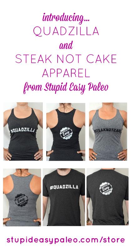 Introducing Stupid Easy Paleo Apparel | stephgaudreau.com