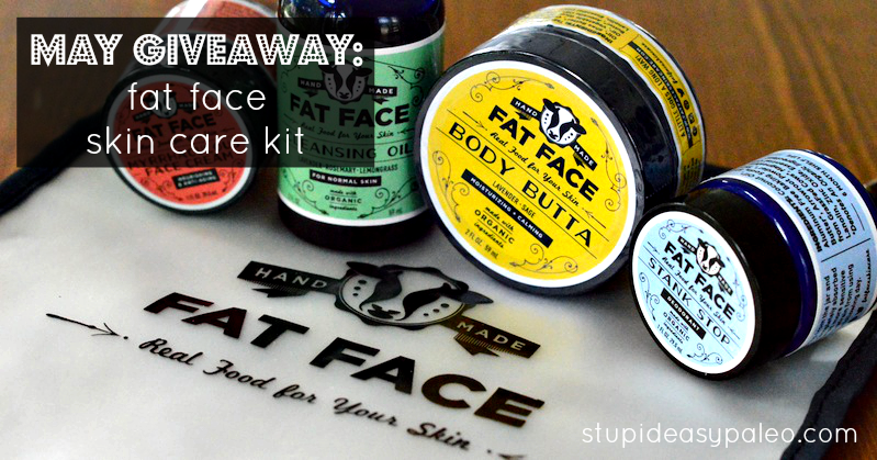 May Giveaway: Fat Fat Skincare Kit | stephgaudreau.com