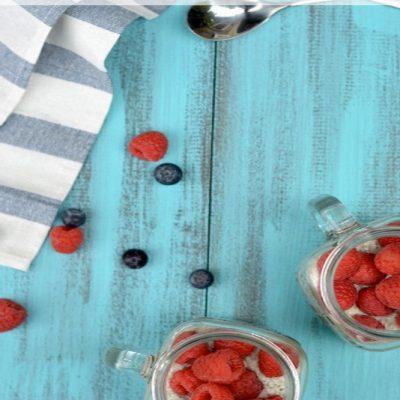 Vanilla Berry Chia Pudding | stephgaudreau.com