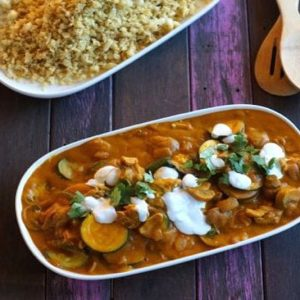 Easy Paleo Chicken Curry—The Merrymaker Sisters | stephgaudreau.com