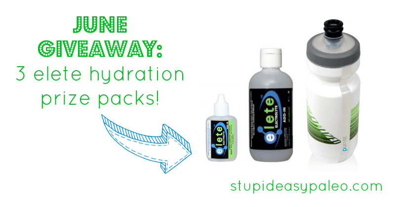June Giveaway: Elete Electrolyte Prize Packs | stephgaudreau.com