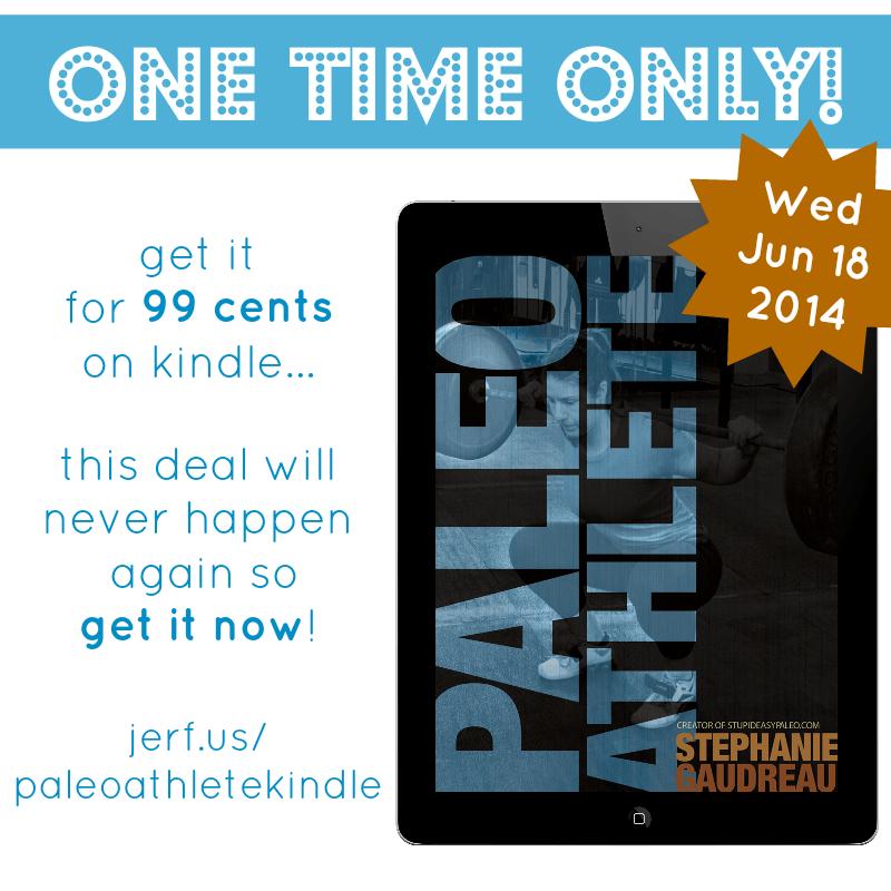 The Paleo Athlete Kindle Buck Sale   stupideasypaleo.com
