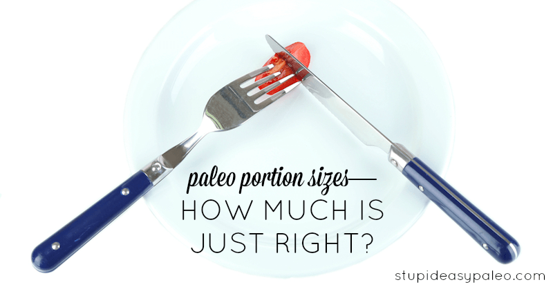 Paleo Portion Sizes—How Much is Just Right? | stupideasypaleo.com