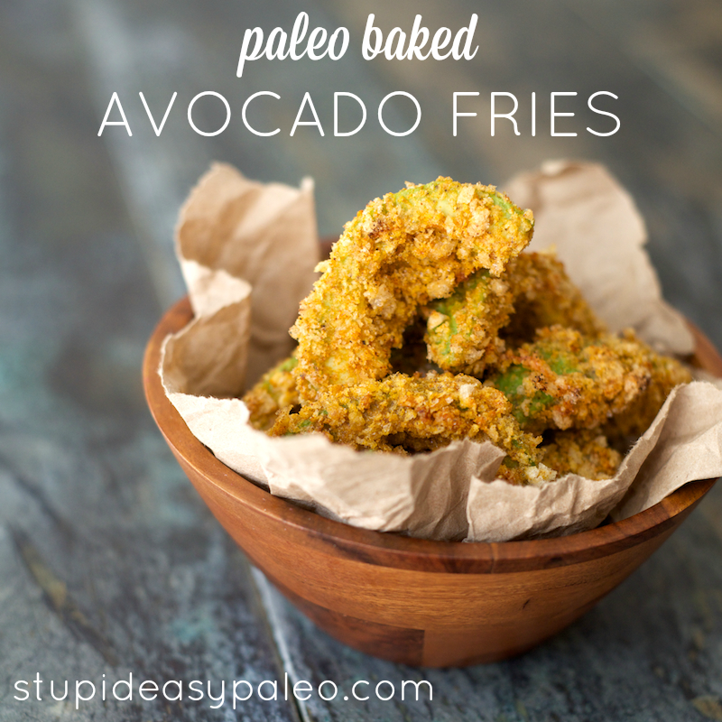 Paleo Baked Avocado Fries Recipe – Stupid Easy Paleo