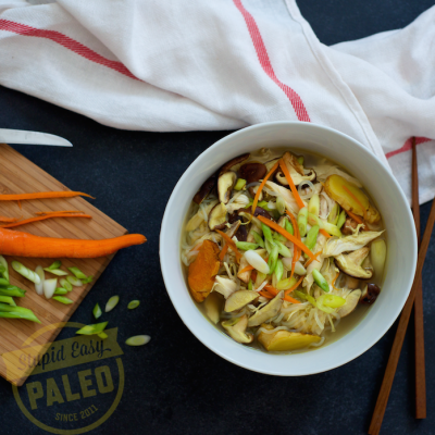 Healing Chicken Soup — Paleo & Whole30 |stephgaudreau.com
