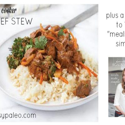 Paleo Slow Cooker Thai Beef Stew | stephgaudreau.com