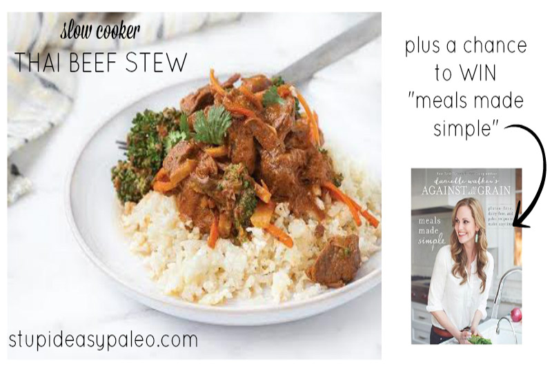 """Steph's note: Today's recipe is a sneak peek from Danielle Walker's new book, """"Meals Made Simple"""" which releases on September 2, 2014. 