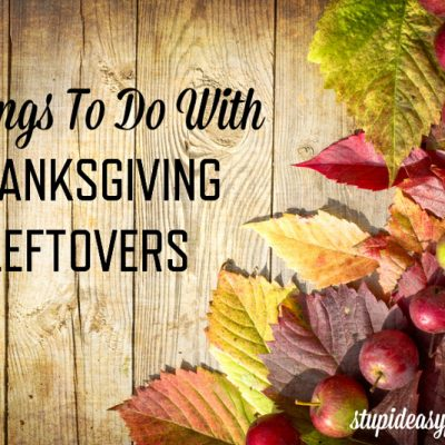 Thanksgiving Leftovers Ideas | stephgaudreau.com