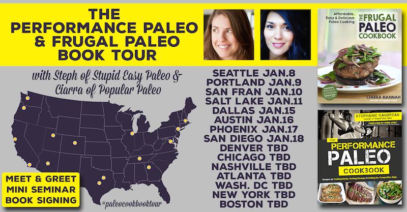 Performance Paleo & Frugal Paleo Cookbook Tour | stephgaudreau.com