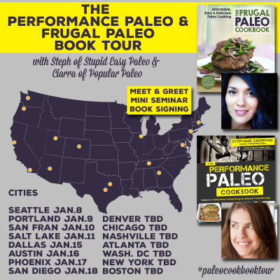 Performance Paleo & Frugal Paleo Cookbook Tour | stephgaudreau.com