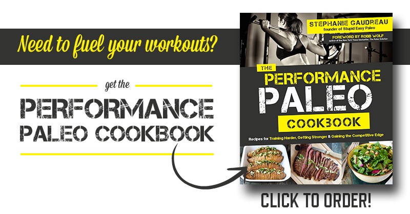 Performance Paleo Cookbook | stephgaudreau.com
