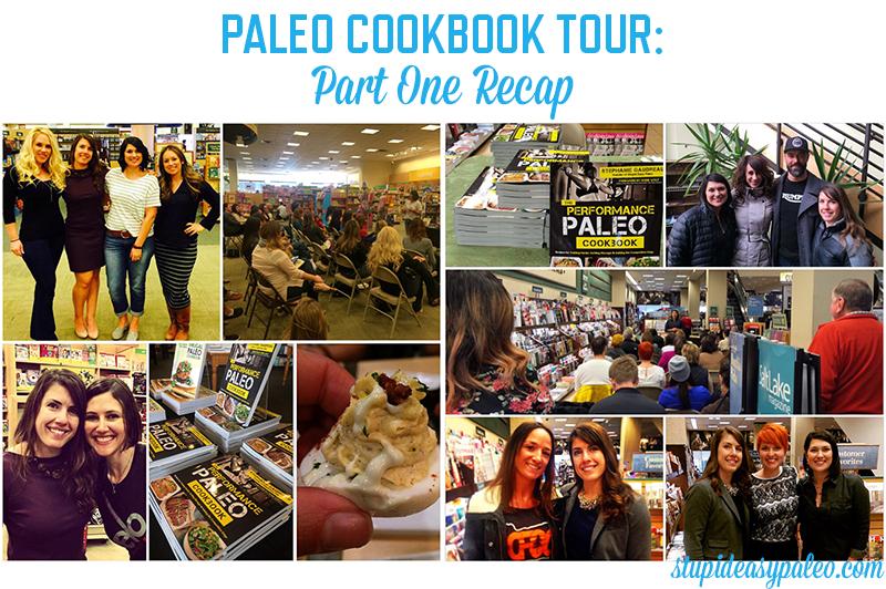 Performance Paleo Book Tour: Part 1 Recap | stephgaudreau.com