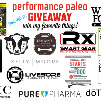 Performance Paleo Giveaway | stephgaudreau.com