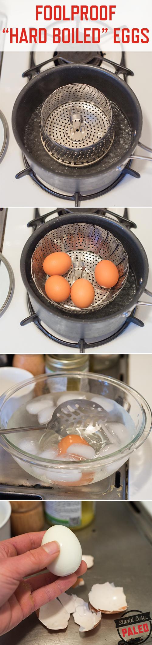 Foolproof Hard Boiled Eggs | stephgaudreau.com