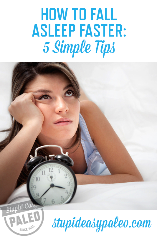 How to Fall Asleep Faster: 5 Natural Tips | stephgaudreau.com