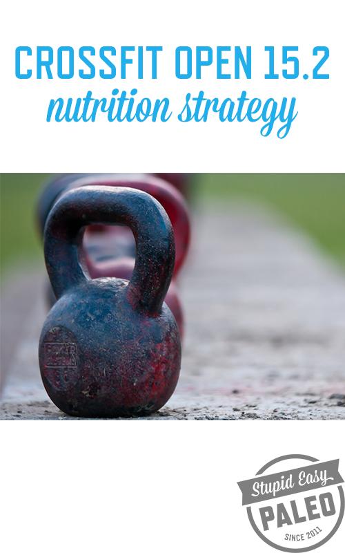 CrossFit Open 15.2 Nutrition Strategy