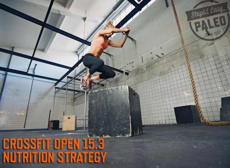CrossFit Open 15.3 Nutrition Strategy | stephgaudreau.com