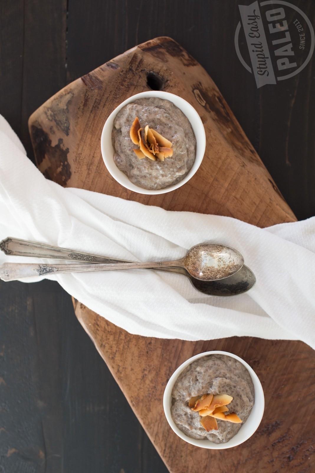 3-Ingredient Banana Chia Pudding Recipe | stephgaudreau.com