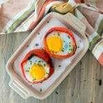 Breakfast Stuffed Peppers | StupidEasyPaleo.com