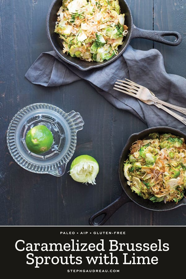 brussels sprouts with lime
