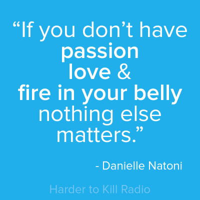 Harder to Kill Radio 008 - Danielle Natoni | stephgaudreau.com