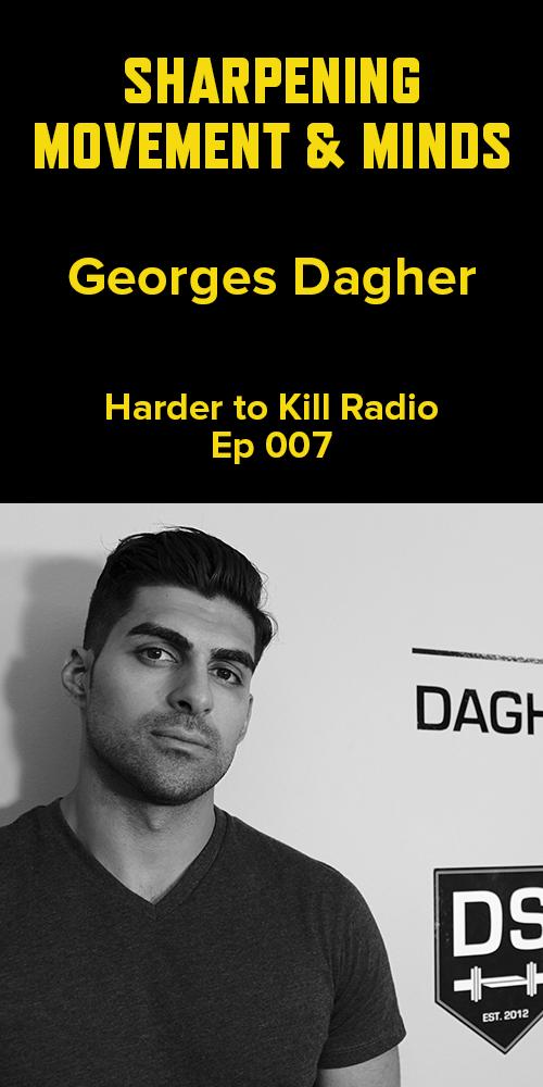 Harder to Kill Radio 007 - Georges Dagher | stupideasypaleo.com