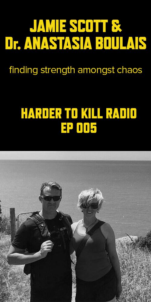 Harder to Kill Radio 005 - Jamie Scott & Dr. Anastasia Boulais   stupideasypaleo.com