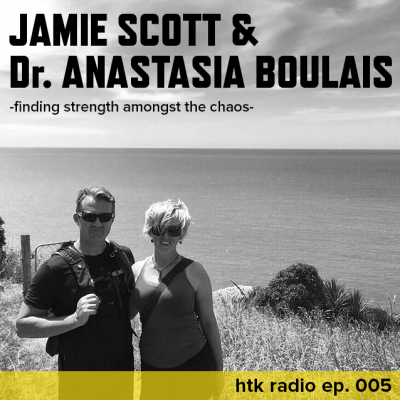Harder to Kill Radio 005 - Jamie Scott & Dr. Anastasia Boulais | stephgaudreau.com