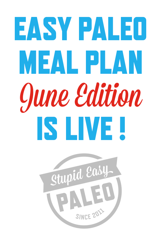 Easy Paleo Meal Plans | stephgaudreau.com