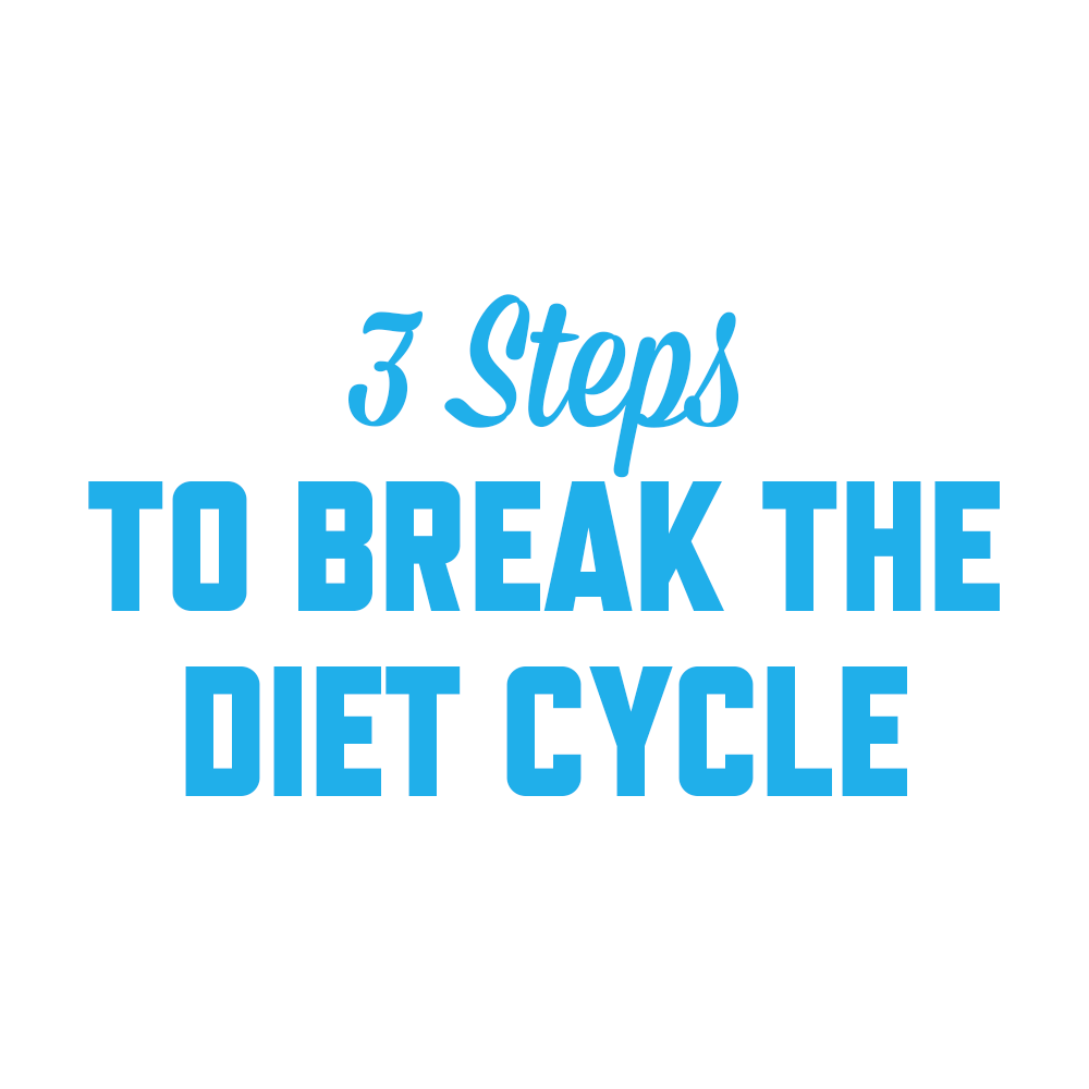 3 steps to Break the Diet Cycle | stephgaudreau.com