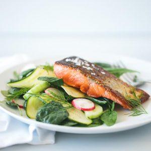 Crispy Skin Salmon | stephgaudreau.com
