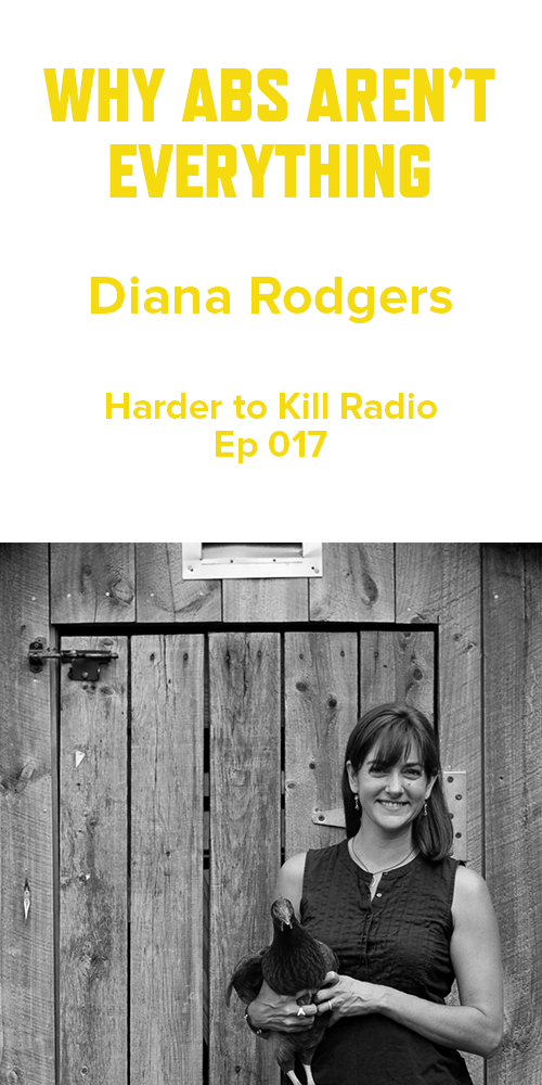 Harder to Kill Radio 017 - Diana Rodgers | stupideasypaleo.com