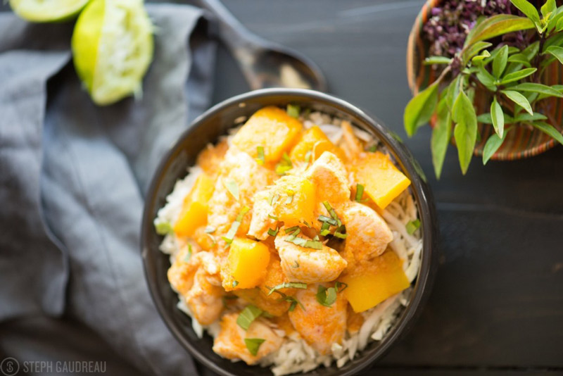 Chicken Pumpkin Thai Curry | stupideasypaleo.com