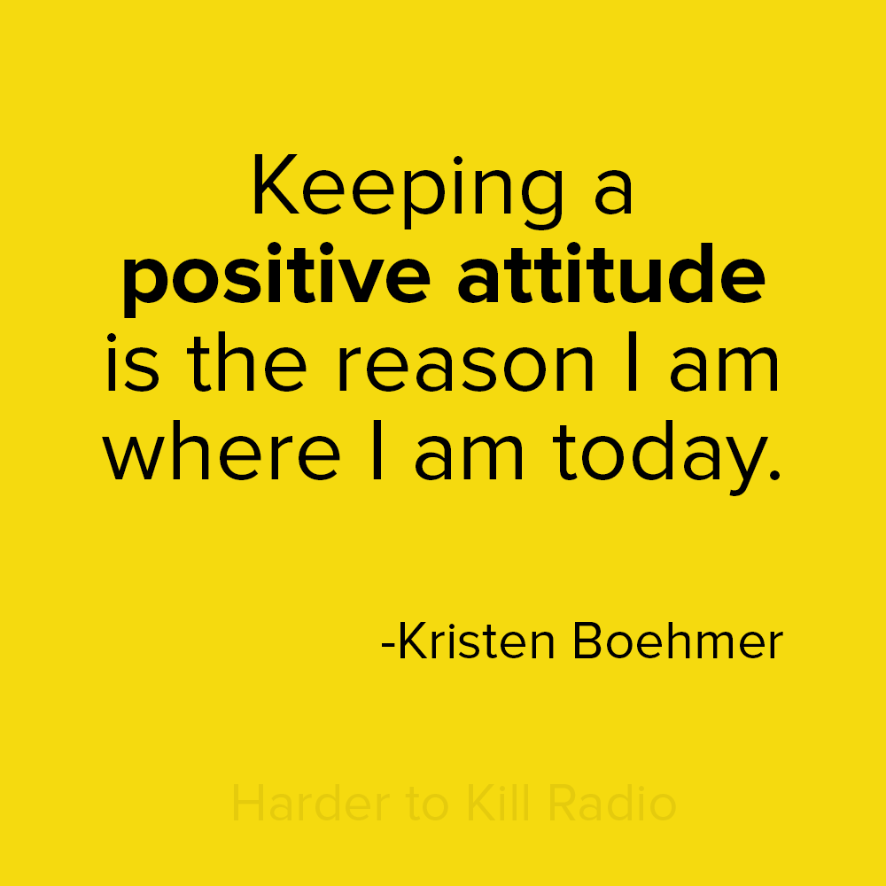 Harder to Kill Radio 020 - Kristen Boehmer | stephgaudreau.com