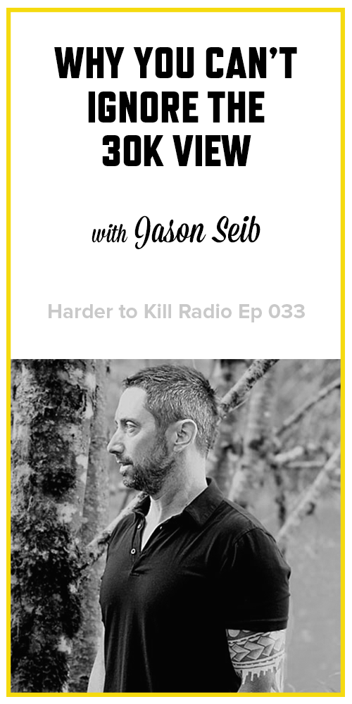 Harder to Kill Radio 033 - Jason Seib | stupideasypaleo.com