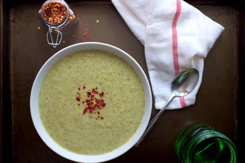 Comforting Creamy Broccoli Soup | StupidEasyPaleo.com