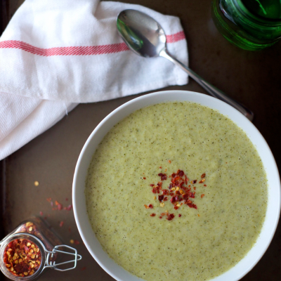 Creamy Broccoli Soup Recipe | StupidEasyPaleo.com