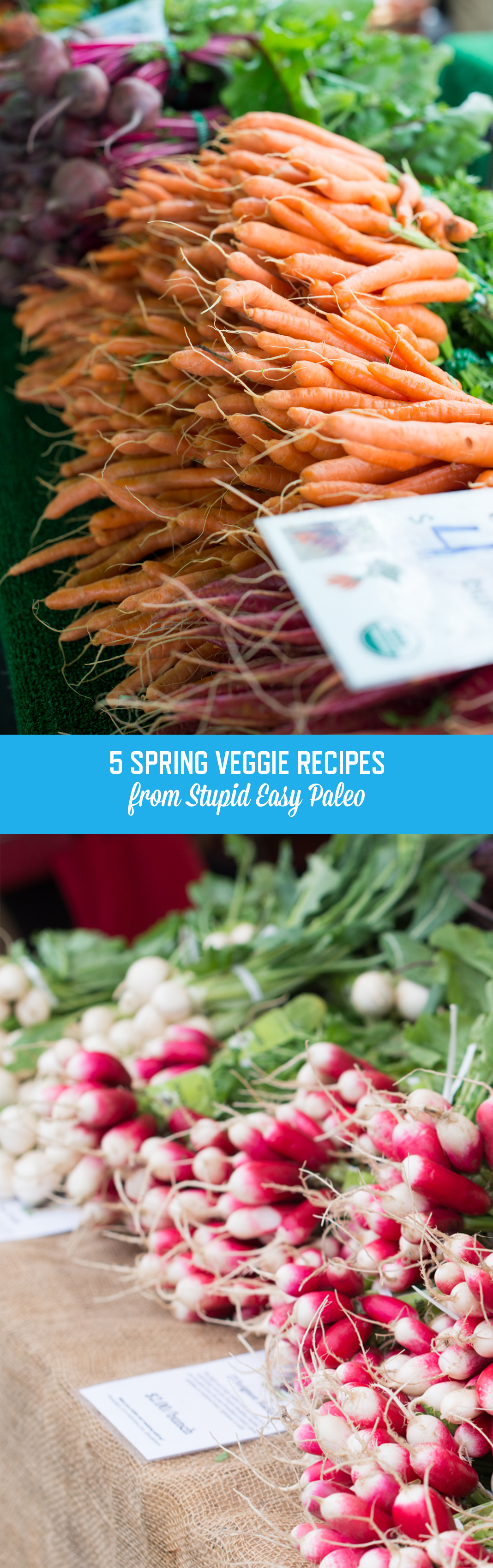 Try these delicious, simple, and healthy spring veggie side dish recipes so you can take advantage of all the best seasonal produce in the market right now!