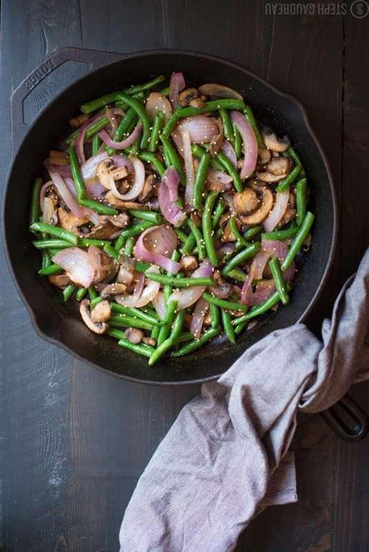 Asian Green Bean Stir-Fry Recipe | StupidEasyPaleo.com