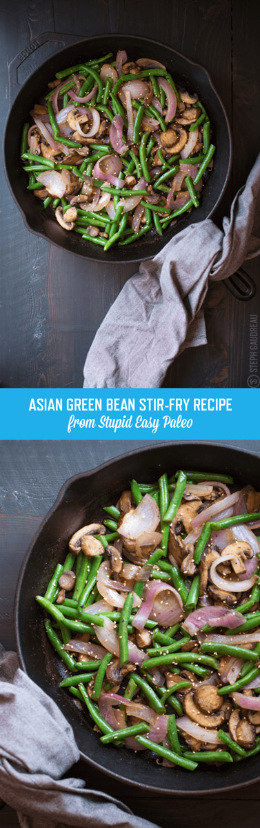 Asian Green Bean Stir-Fry Recipe | StupidEasyPaleo.com