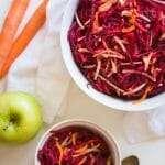 Beet Carrot Apple Salad   StupidEasyPaleo.com