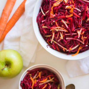Beet Carrot Apple Salad | StupidEasyPaleo.com