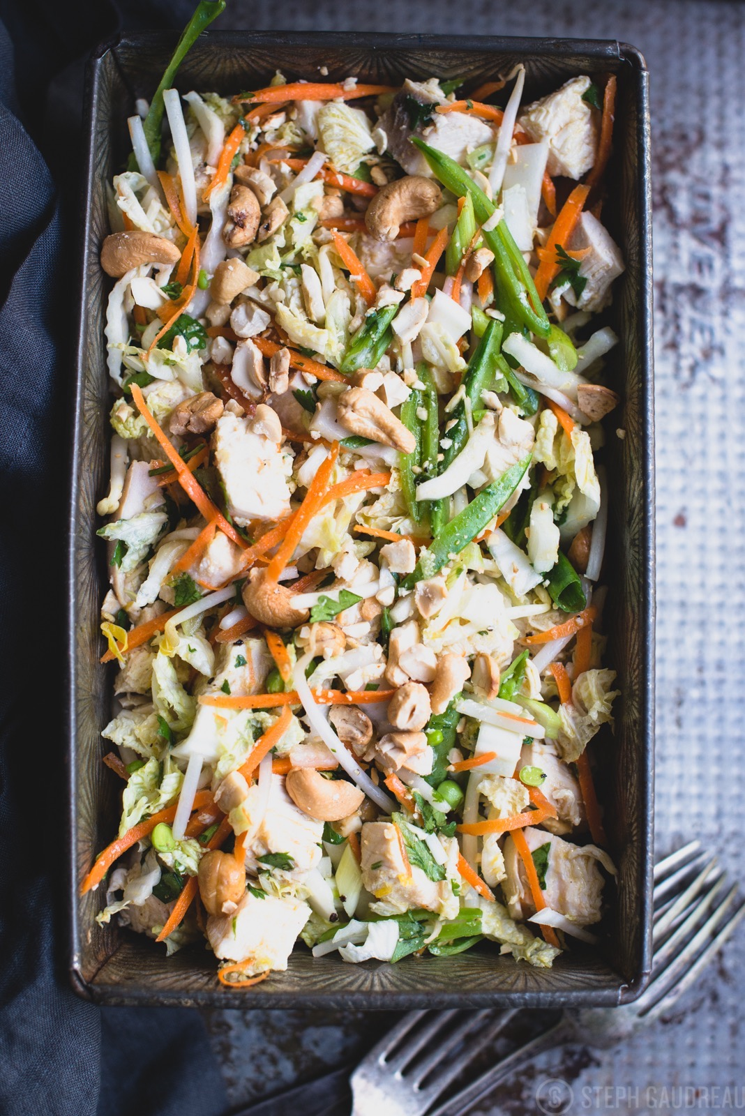 Chinese Chicken Salad   StupidEasyPaleo.com
