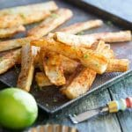 Spicy Yuca Fries Recipe | StupidEasyPaleo.com