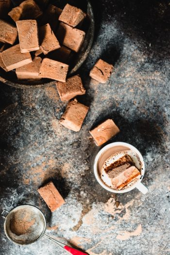 Chocolate Mint Marshmallows | StupidEasyPaleo.com
